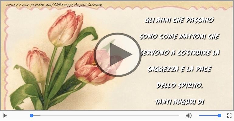 Cartoline musicali di compleanno - Tanti Auguri di Buon Compleanno!