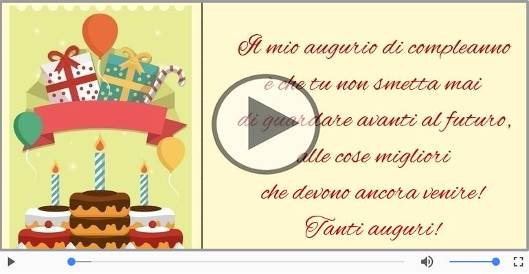 Cartoline musicali di compleanno - Tanti auguri!