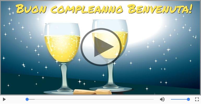 Cartoline musicali di compleanno - It's your birthday Benvenuta ... Buon Compleanno!