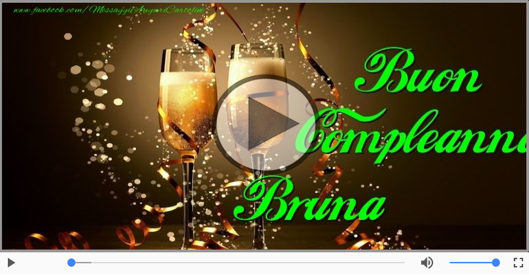 Happy Birthday Bruna! Buon Compleanno Bruna! | Happy Birthday