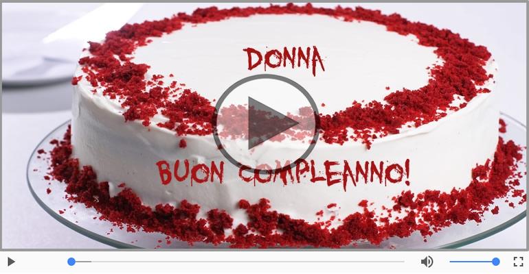 Top Cartoline musicali con il nome Donna   Compleanno  WY09