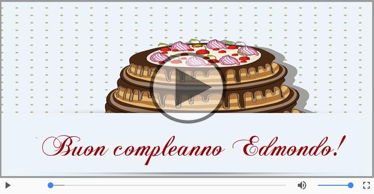 Cartoline musicali di compleanno - Happy Birthday Edmondo! Buon Compleanno Edmondo!