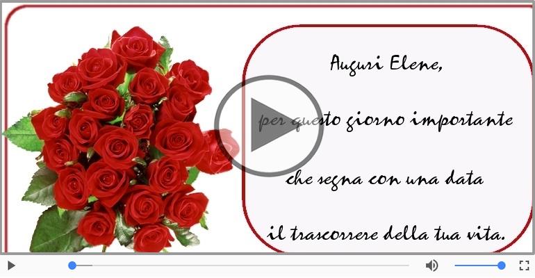 Cartoline musicali di compleanno - It's your birthday Elene ... Buon Compleanno!