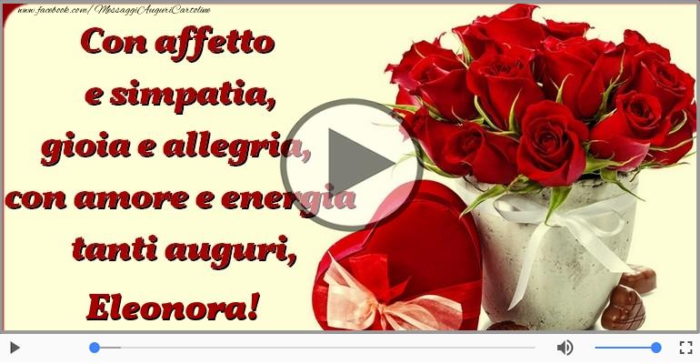 Buon Compleanno Eleonora La Multi Ani La Pian Fm Cartoline
