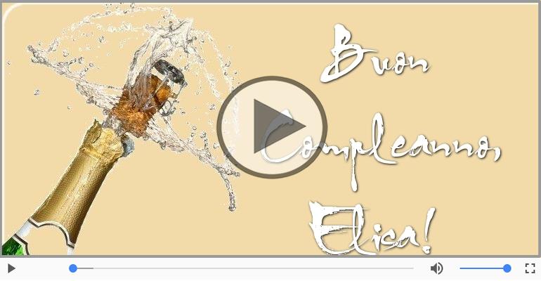 Cartoline musicali di compleanno - Buon Compleanno Elisa!
