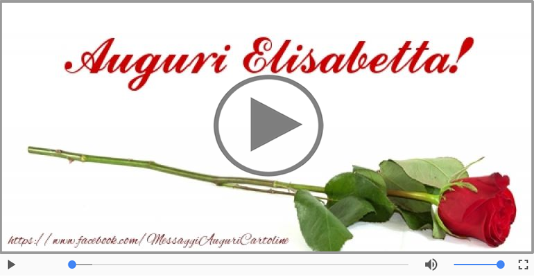 Cartoline musicali di compleanno - It's your birthday Elisabetta ... Buon Compleanno!