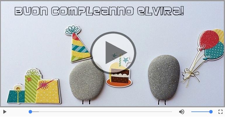Cartoline musicali di compleanno - Buon Compleanno Elvira!