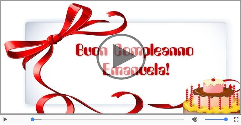 Cartoline musicali di compleanno - Buon Compleanno Emanuela!