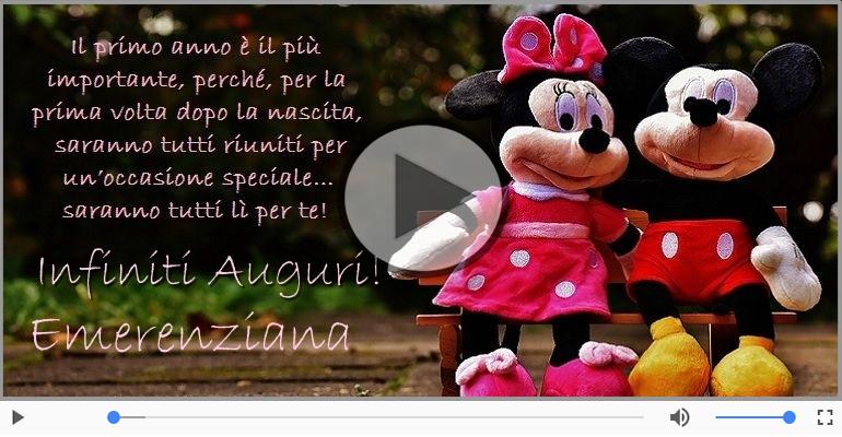 Cartoline musicali di compleanno - It's your birthday Emerenziana ... Buon Compleanno!