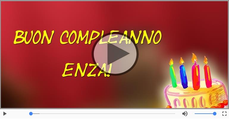 Cartoline musicali di compleanno - Buon Compleanno Enza!