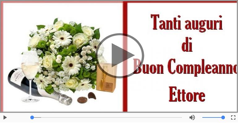 Cartoline musicali di compleanno - Buon Compleanno Ettore!