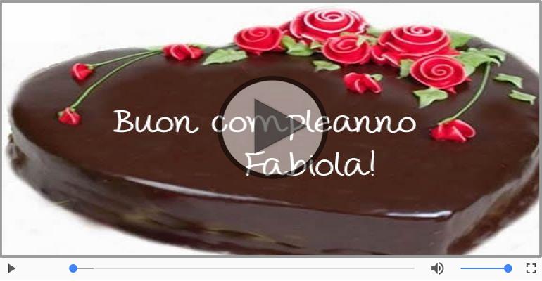 Cartoline musicali di compleanno - Happy Birthday Fabiola! Buon Compleanno Fabiola!