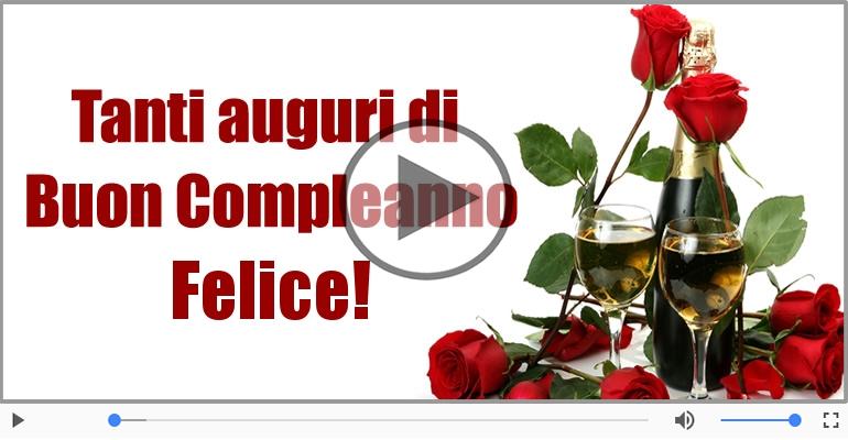 Cartoline musicali di compleanno - It's your birthday Felice ... Buon Compleanno!