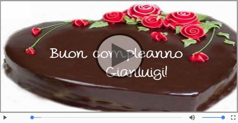 Cartoline musicali di compleanno - Tanti Auguri di Buon Compleanno Gianluigi!