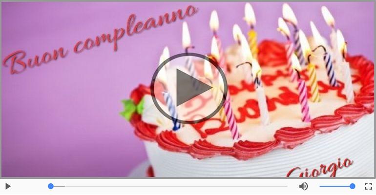 Cartoline musicali di compleanno - Buon Compleanno Giorgio!