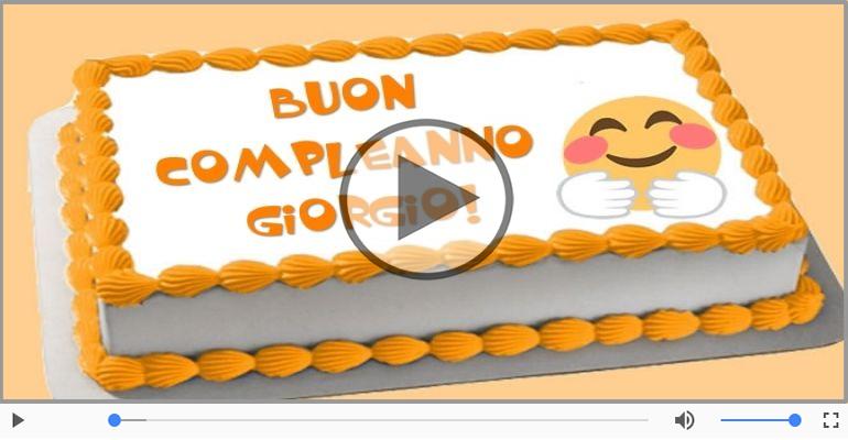 Cartoline musicali di compleanno - Tanti Auguri di Buon Compleanno Giorgio!