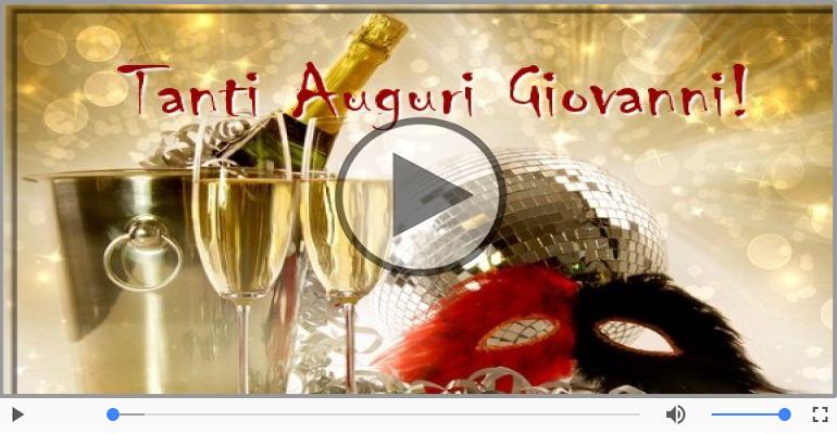 Cartoline musicali di compleanno - Tanti Auguri di Buon Compleanno Giovanni!