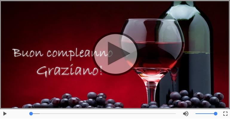 Cartoline musicali di compleanno - It's your birthday Graziano ... Buon Compleanno!