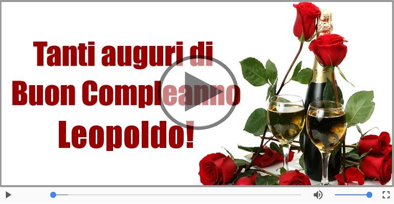 Cartoline musicali di compleanno - Buon Compleanno Leopoldo!