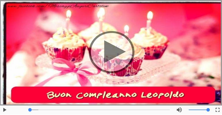 Cartoline musicali di compleanno - It's your birthday Leopoldo ... Buon Compleanno!