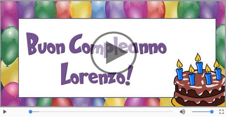 Tanti Auguri Di Buon Compleanno Lorenzo Buon Compleanno