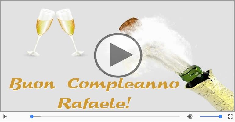 Cartoline musicali di compleanno - Buon Compleanno Rafaele!