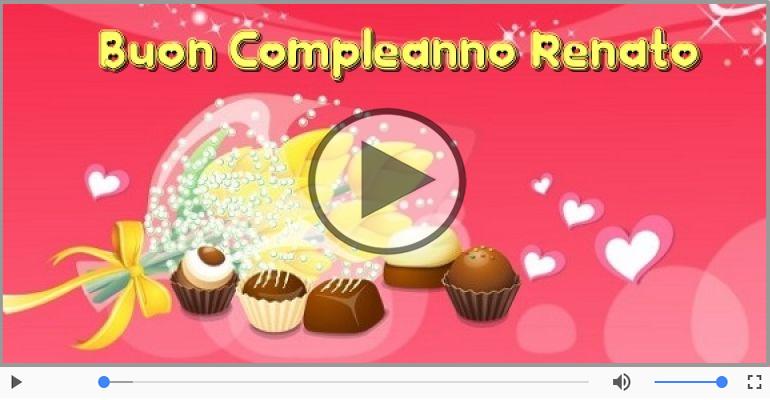 Cartoline musicali di compleanno - Tanti Auguri di Buon Compleanno Renato!