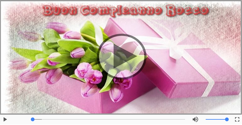 Cartoline musicali di compleanno - It's your birthday Rocco ... Buon Compleanno!