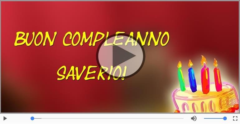 Cartoline musicali di compleanno - Buon Compleanno Saverio!