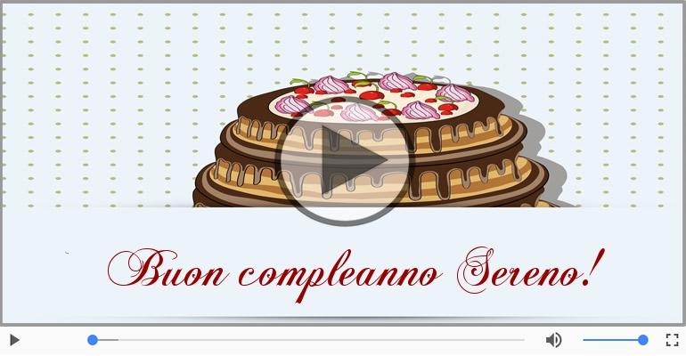 Cartoline musicali di compleanno - Tanti Auguri di Buon Compleanno Sereno!