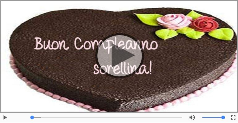 Conosciuto Happy Birthday Sorella! Buon Compleanno Sorella! | Happy Birthday  LG18