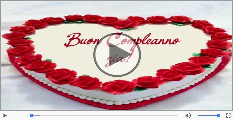 Buon Compleanno Zia Buon Compleano Cartoline Musicali Di