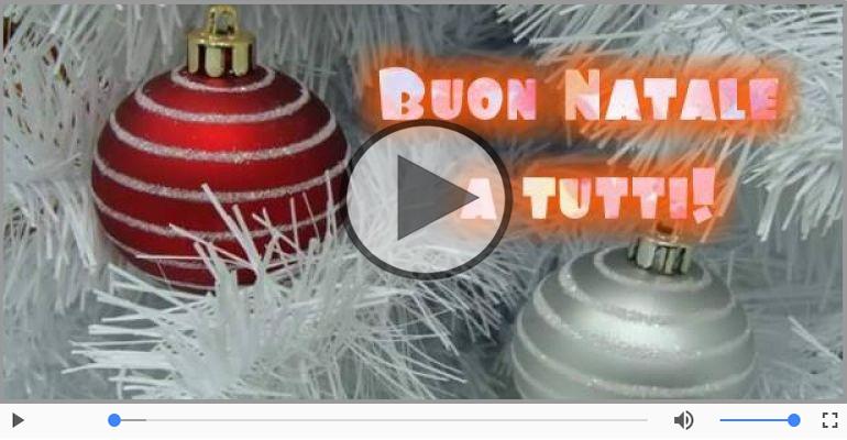 Cartoline musicali di Natale - Buon Natale