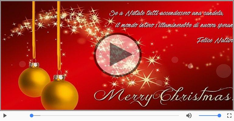Cartoline musicali di Natale - Tanti Auguri di Buon Natale