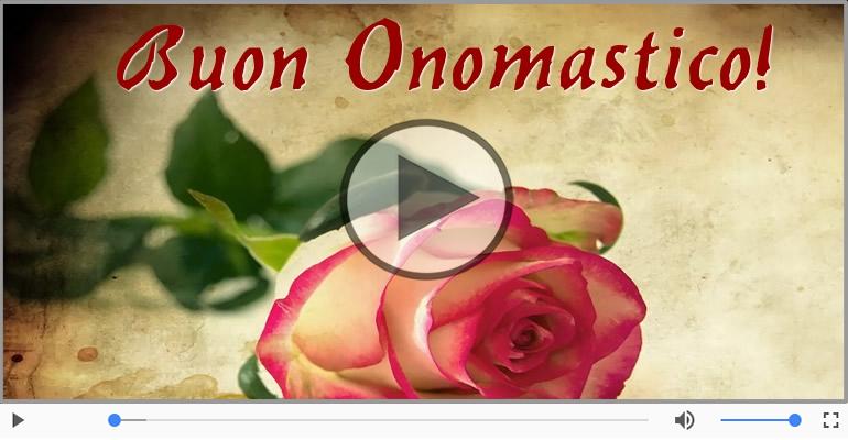 Cartoline musicali di onomastico - Buon Onomastico!