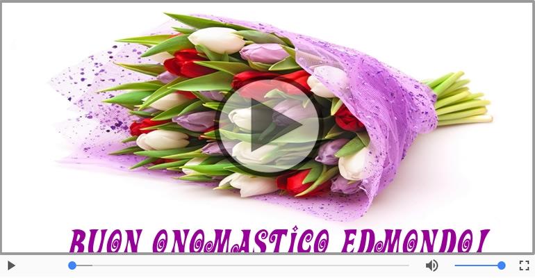 Cartoline musicali di onomastico - Buon Onomastico Edmondo!