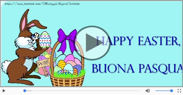 Cartoline musicali di pasqua - Buona Pasqua!