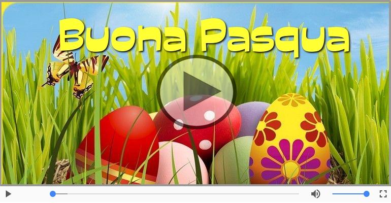 Cartoline musicali di pasqua - Buona Pasqua