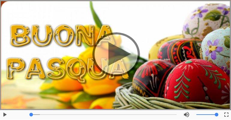 Cartoline musicali di pasqua - Tanti auguri di buona Pasqua!
