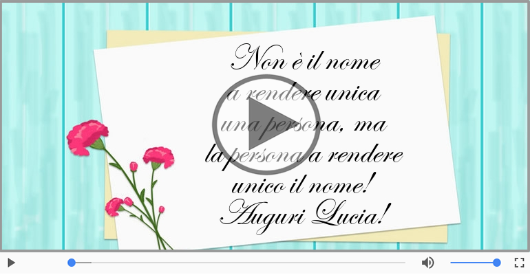 Cartoline musicali di Santa Lucia - Felice Santa Lucia!
