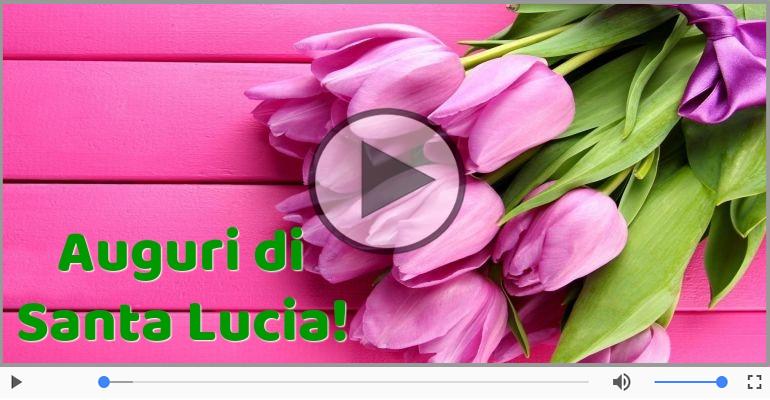 Cartoline musicali di Santa Lucia - Auguri di Santa Lucia!